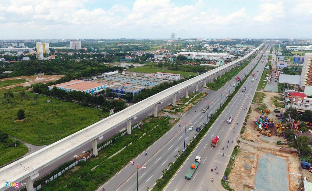 hạ tầng xung quanh dự án dragon village