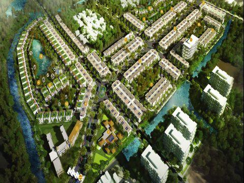phối cảnh 3D dự án dragon village