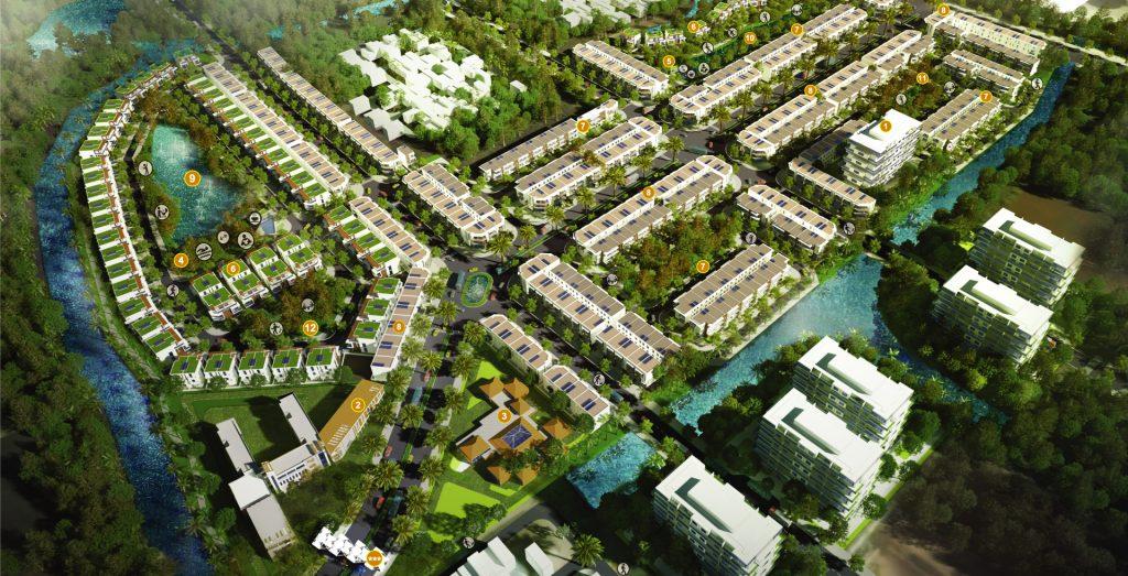 quy hoạch tổng thể khu đô thị dragon village