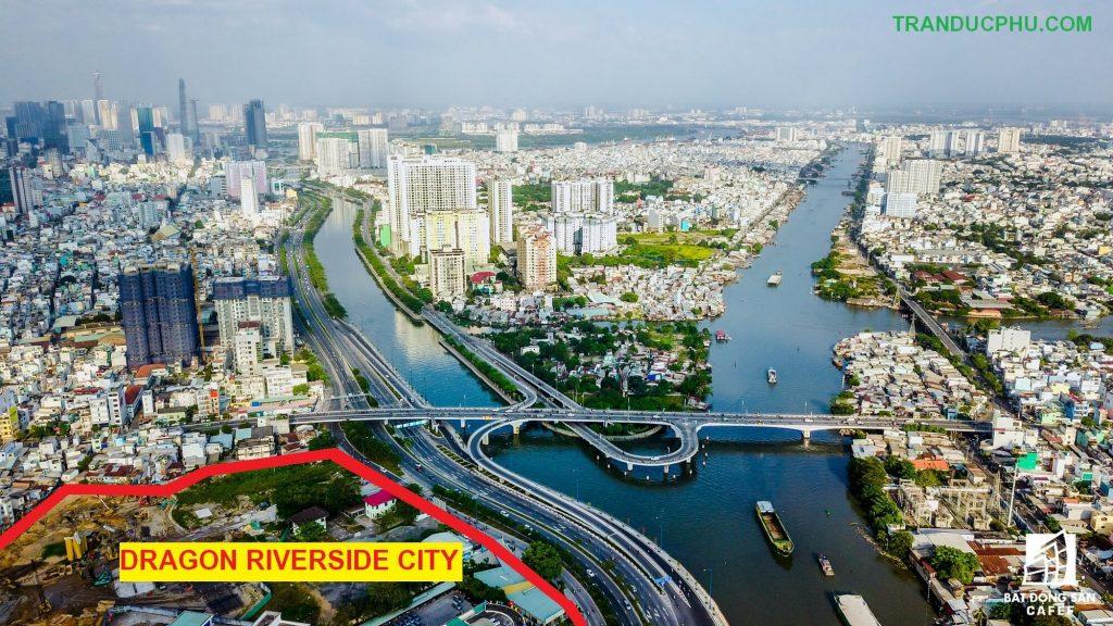 khu đất dự án dragon riverside city