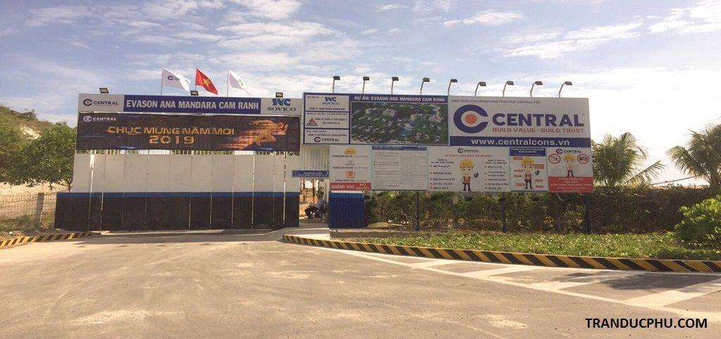 central đơn vị thầu xây dựng ana mandara cam ranh