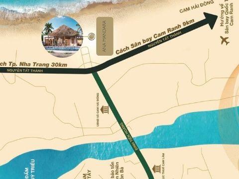 vị trí dự án ana mandaa cam ranh ở đâu