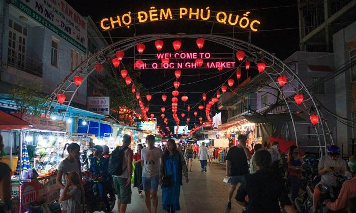 hình ảnh chợ đêm phú quốc