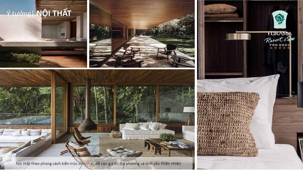 nội thất bên trong Furama Resort & spa phú quốc