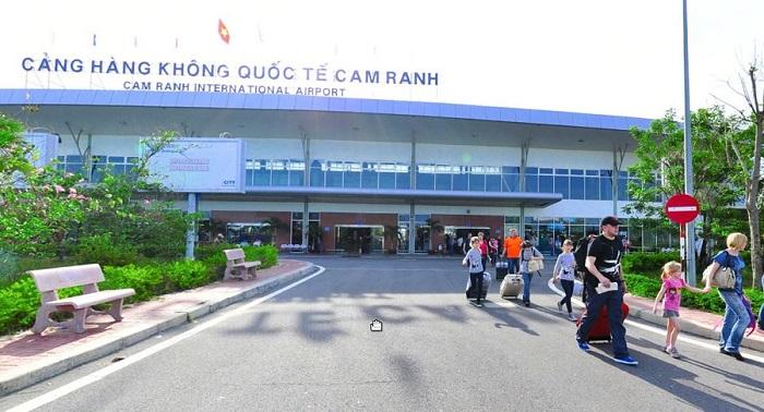 sơ đồ sân bay Cam Ranh
