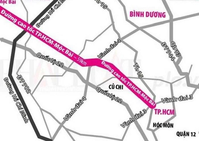 """Cao tốc TP.HCM - Mộc Bài được """"rót"""" hơn 10.500 tỷ đồng"""