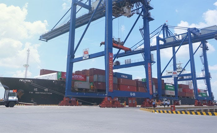 Đây là khu cảng trọng điểm của Nam Sài Gòn