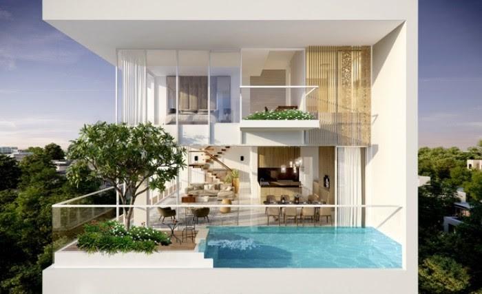 Thiết kế Sky Villa