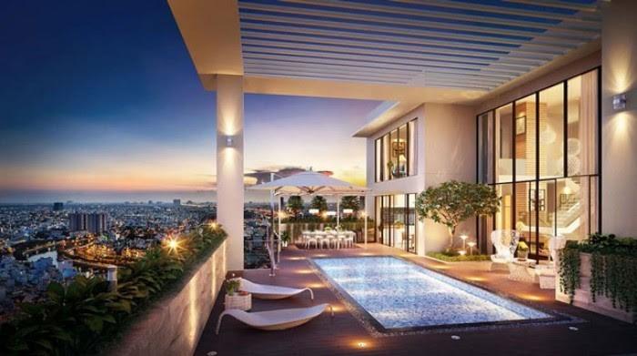 Sky villa - sự lựa chọn của giới thượng lưu