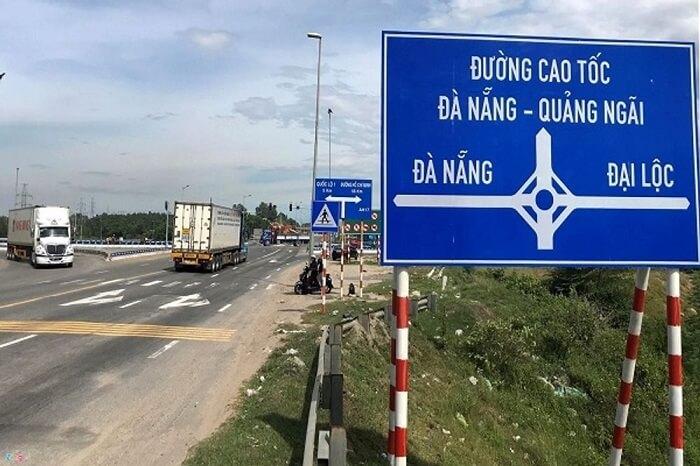 bản đồ đường cao tốc đà nẵng quảng ngãi