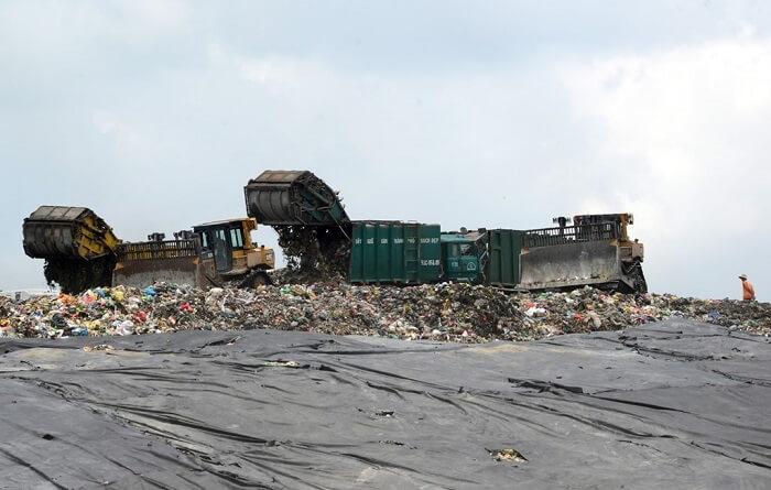 bãi rác đa phước