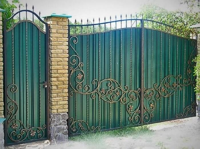 cổng nhà như thế nào là hợp phong thủy