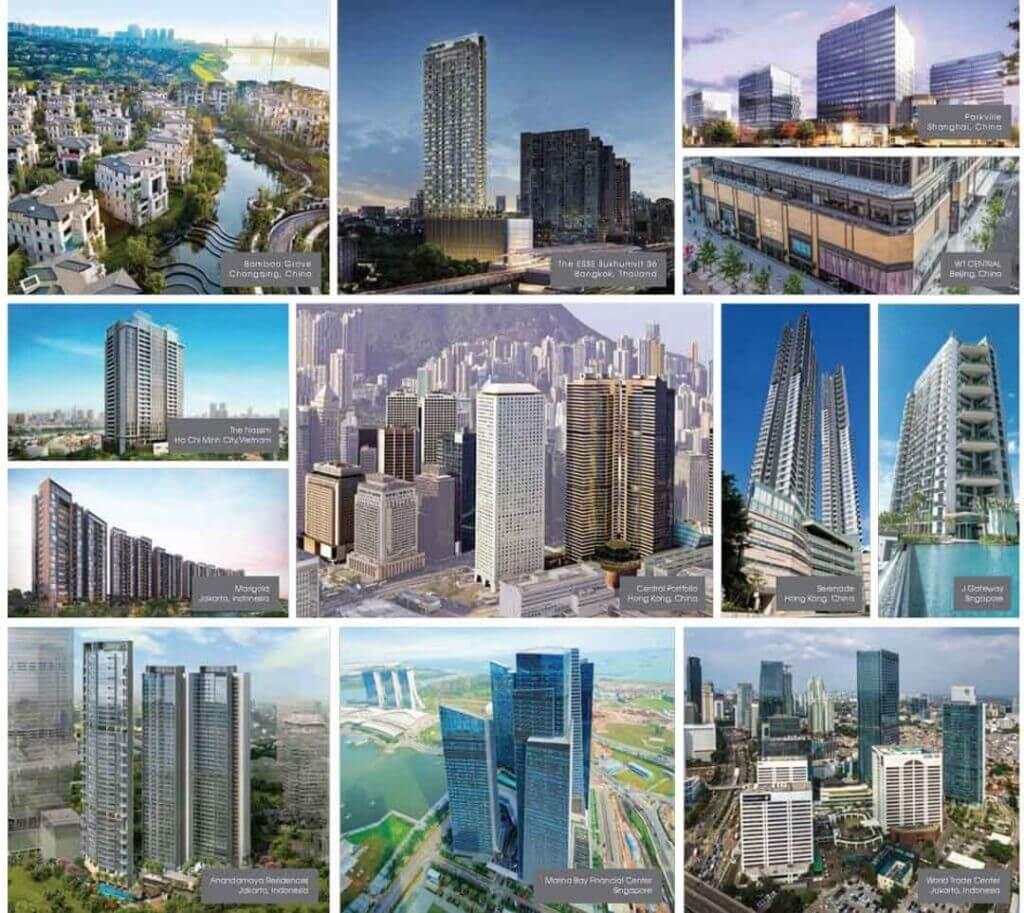 dự án của HongKong Land