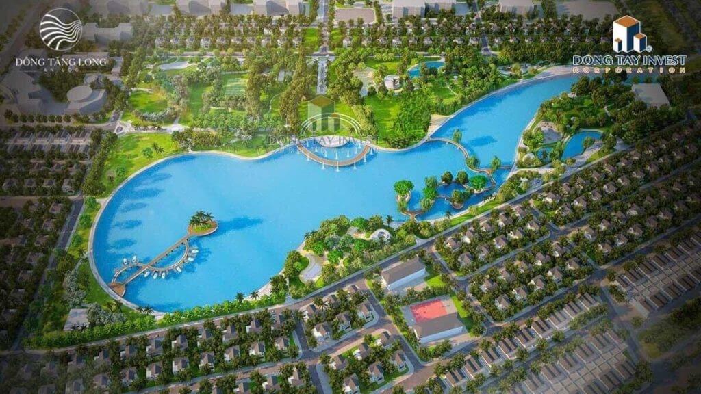 hồ sinh thái dự án Đông Tăng Long