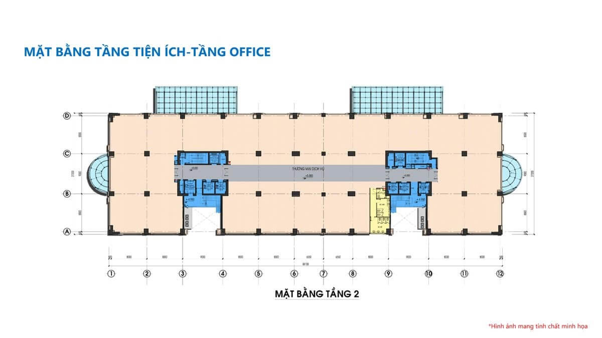 mặt bằng căn hộ Dự án Tam Đức Plaza