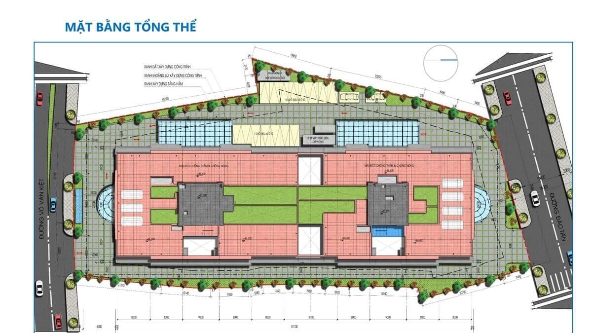 mặt bằng Dự án Tam Đức Plaza