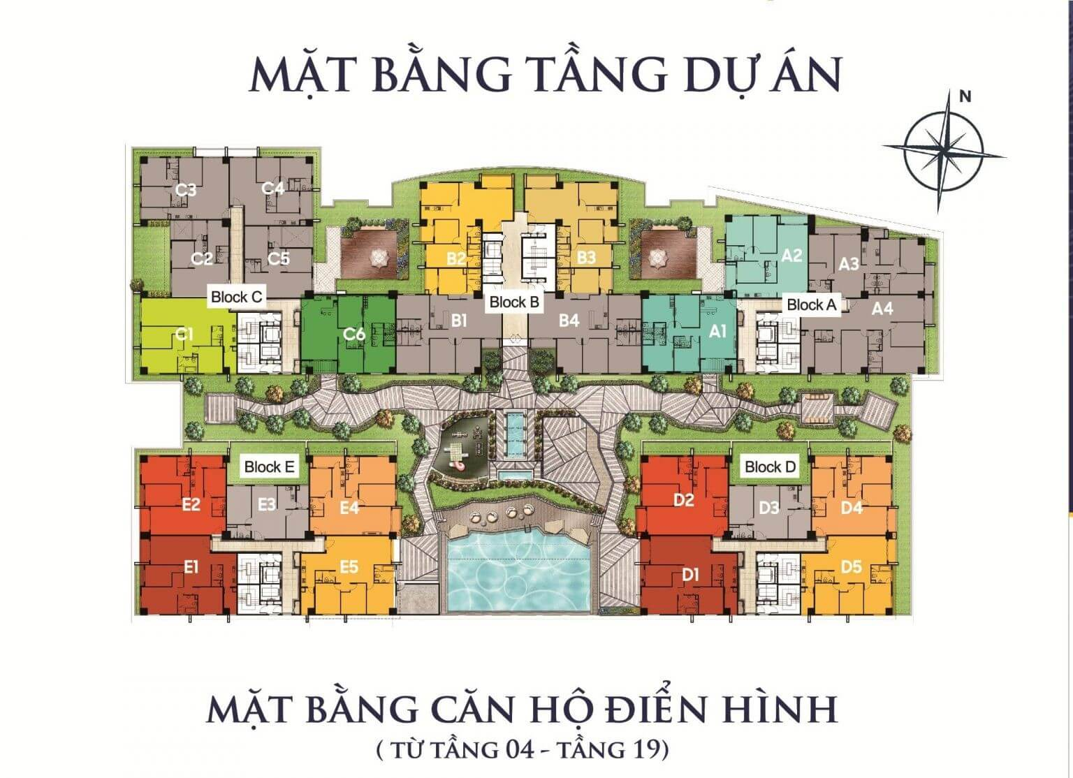 mặt bằng tầng cosmo city