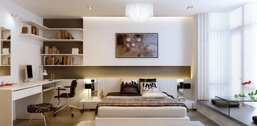phòng ngủ căn hộ Galaxy 9