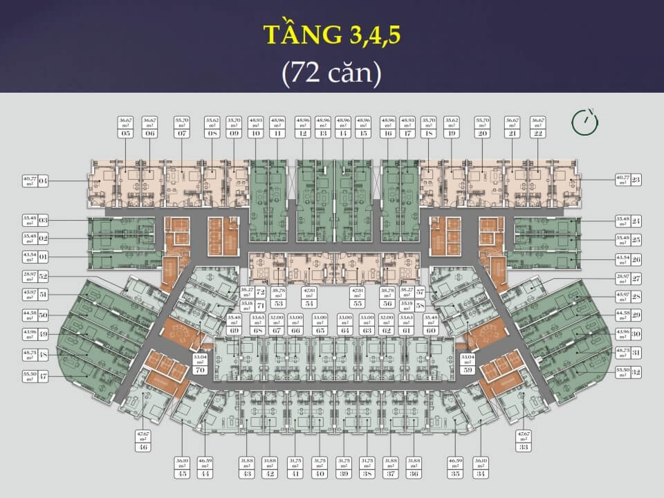 tầng 3,4,5 Everrich Infinity