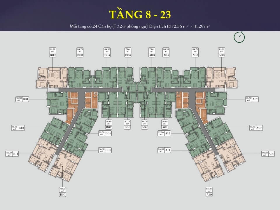 tầng 8-23 Everrich Infinity