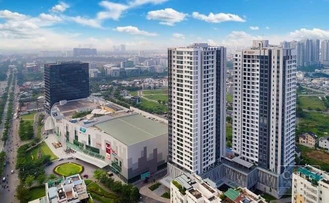Thực tế khu phức hợp SaiGon South Place Complex, Nguyễn Văn Linh, Quận 7.