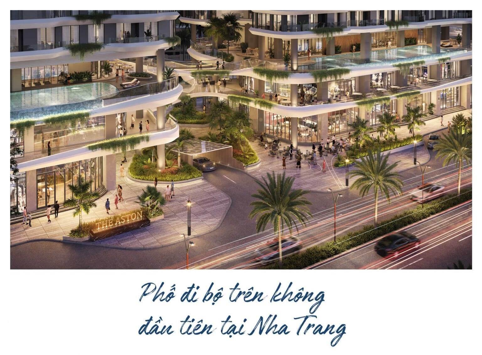 tiện ích dự án The Aston Nha Trang