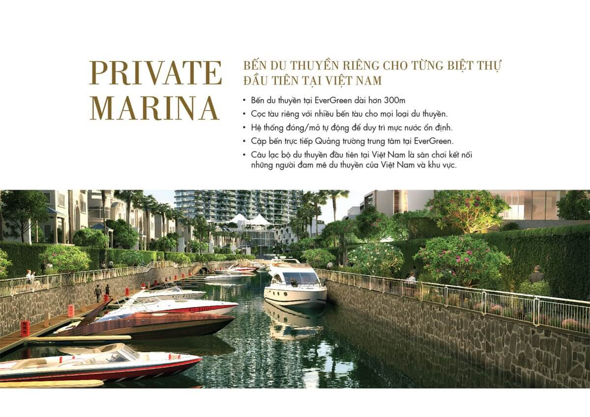 Bến du thuyền Royal Marina For Garden Villa