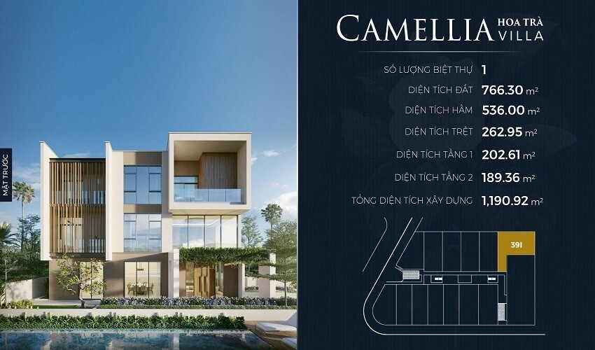 CAMELLIA hoa trà Villa - lancaster eden