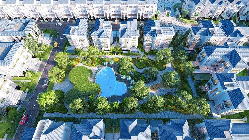 công viên dự án Sol Villas
