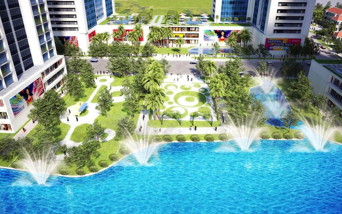 hồ bơi Babylon Garden