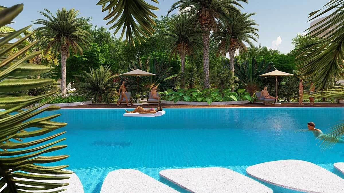 hồ bơi La Vida Residences