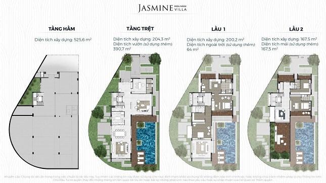 JASMINE Hoa Nhài Villa