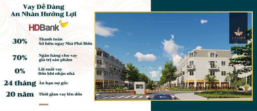 ngân hàng cho vay dự án La Vida Residences