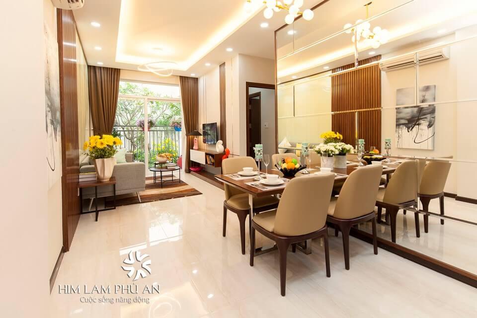 nhà mẫu căn hộ chung cư Him Lam Phú An