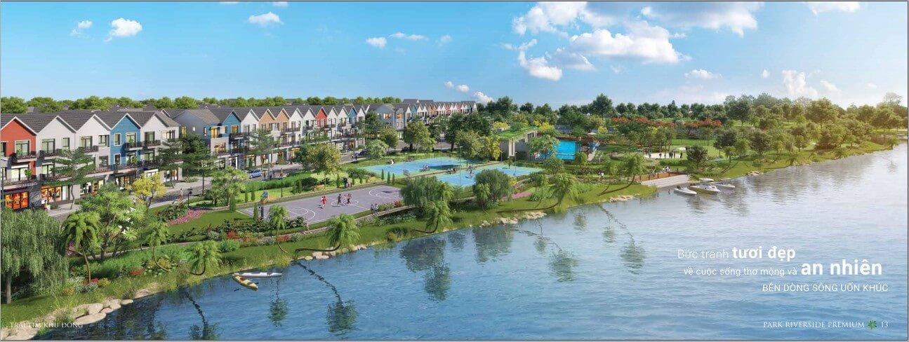 phối cảnh dự án Park Riverside