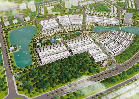 Phối cảnh tổng thể dự án La Vida Residences