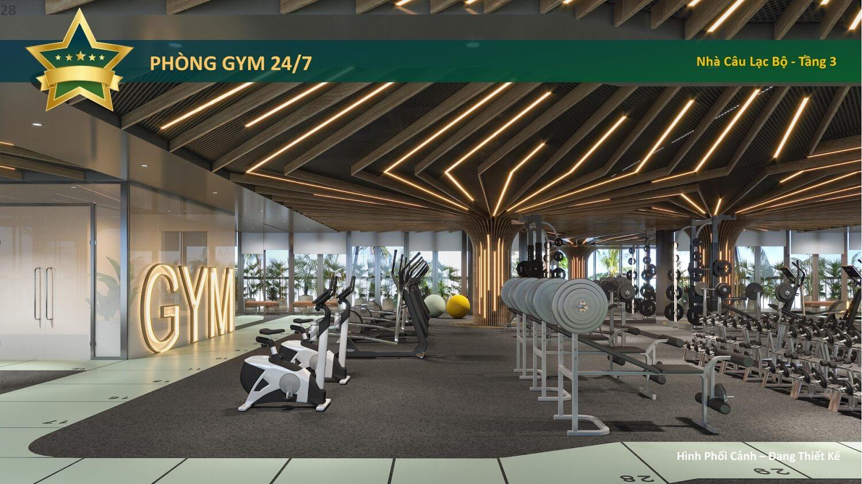 phòng gym celesta heights