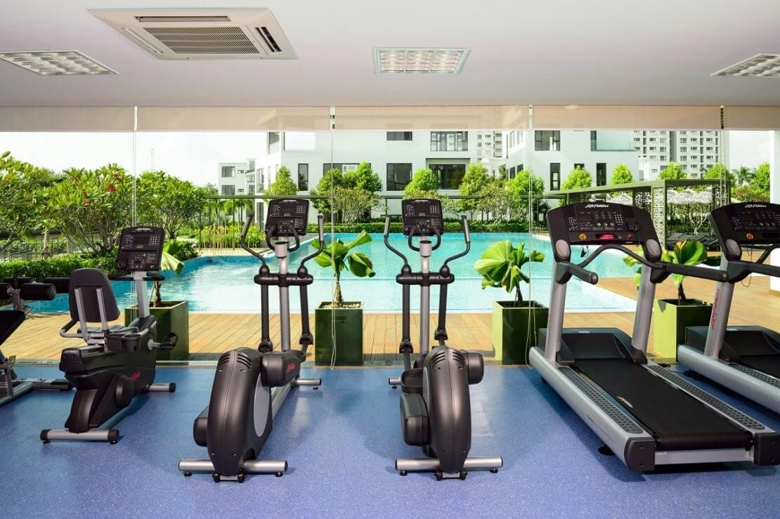 phòng tập gym dự án Lucasta Khang Điền