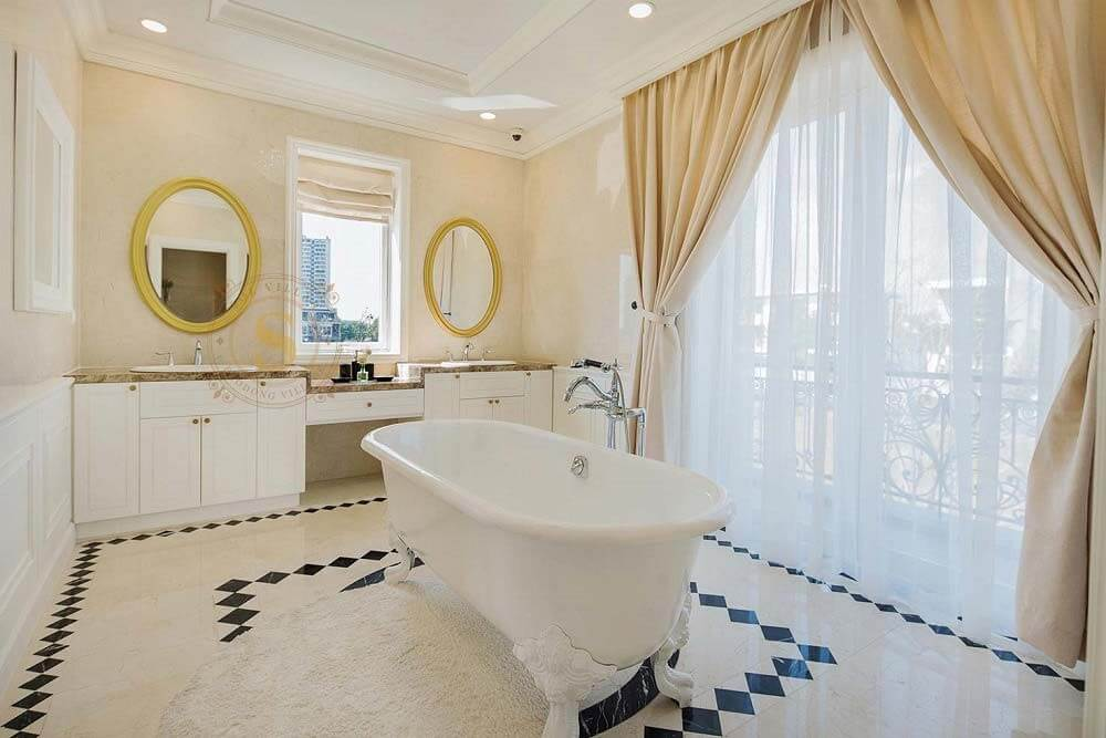 phòng tắm Sol Villas