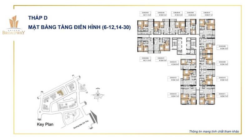 tháp D Saigon Broadway q2