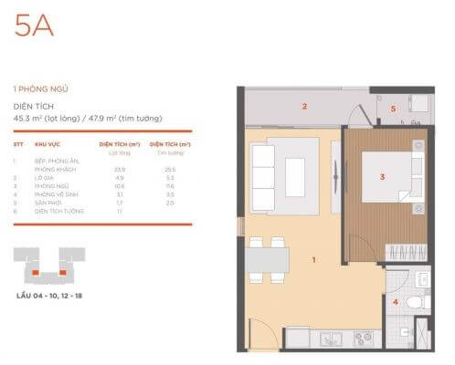 thiết kế căn hộ HausNima
