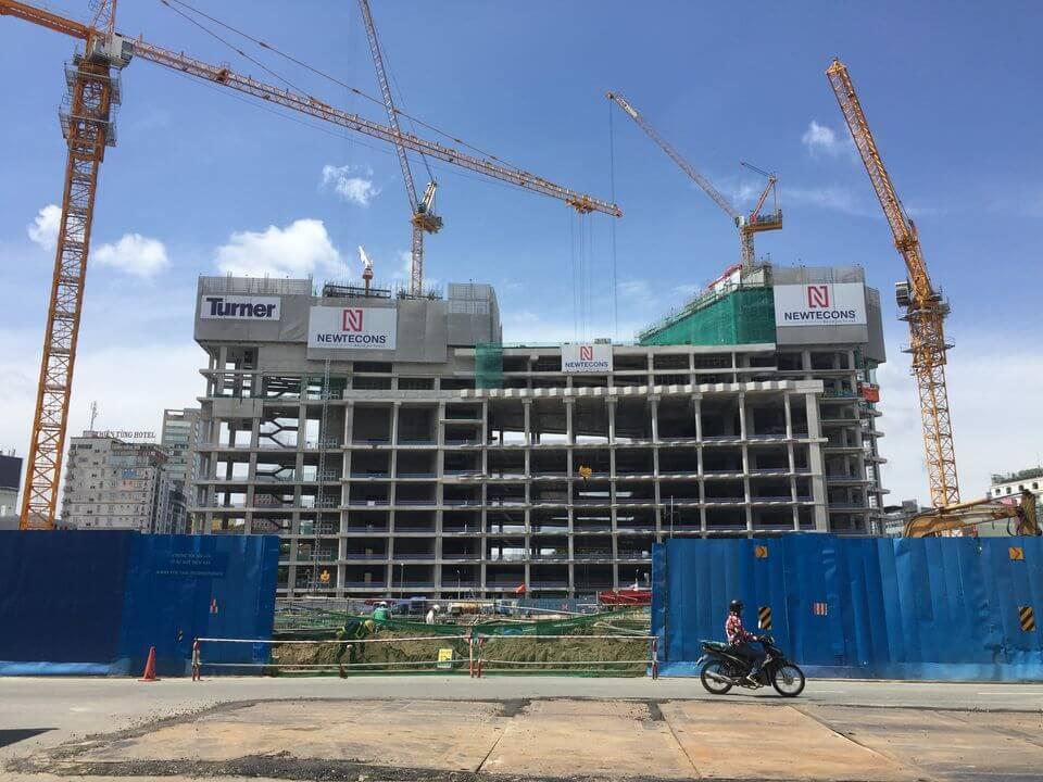 tiến độ dự án the Spirit Of Saigon Quận 1