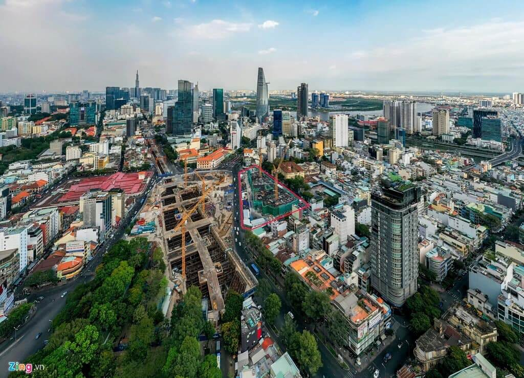 vị trí Spirit Of Saigon Quận 1