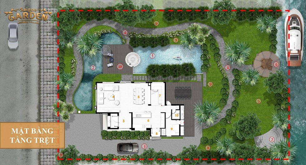 chu dau tu Sài Gòn Garden Riverside Village