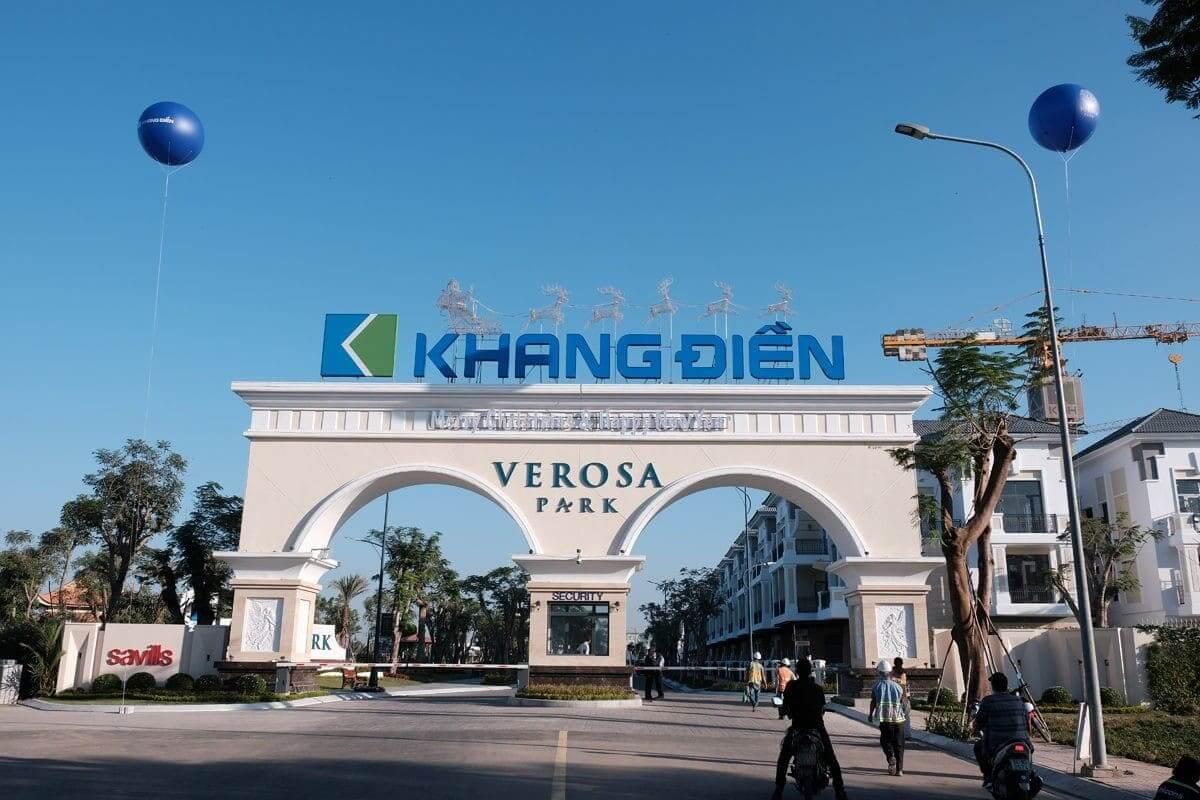 cong du an Verosa Park khang dien