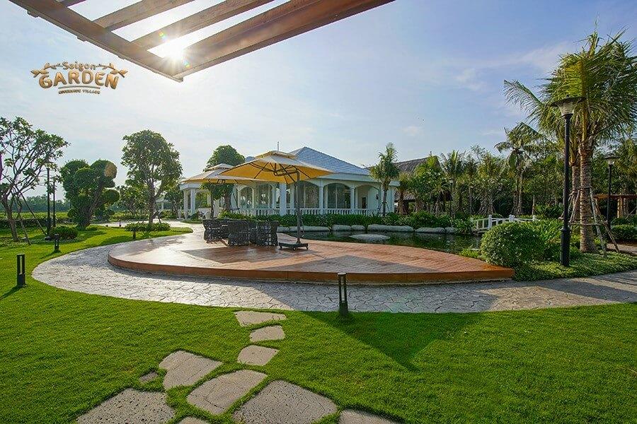 flycam Sài Gòn Garden Riverside Village