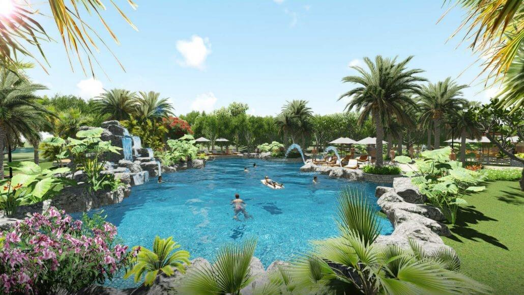 ho boi Palm Marina Novaland