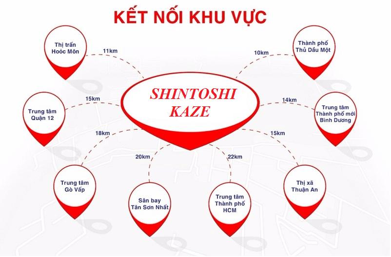 ket noi vung du an Shintoshi Kaze