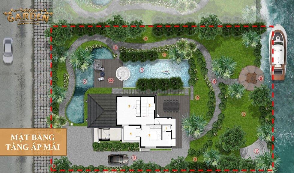 mat bang ap mai Sài Gòn Garden Riverside Village