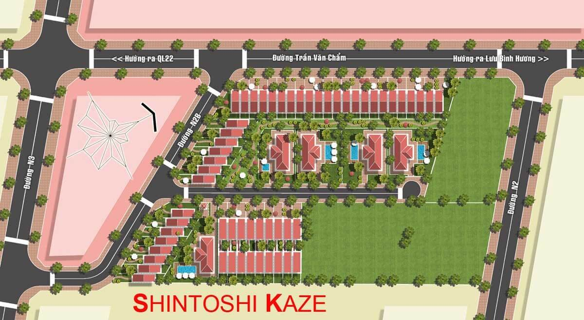 mat bang du an Shintoshi Kaze